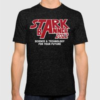 Stark Banner 2012 Mens Fitted Tee Tri-Black SMALL