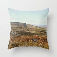 Where Heaven Meets Earth Throw Pillow