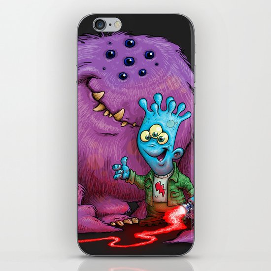 A boy and his Grogg iPhone & iPod Skin