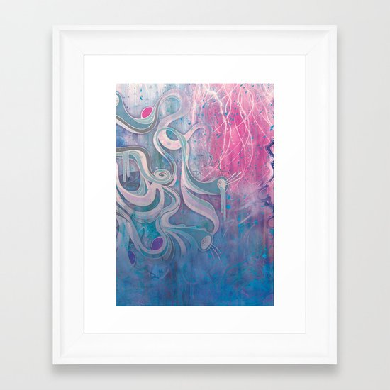 Electric Dreams Framed Art Print