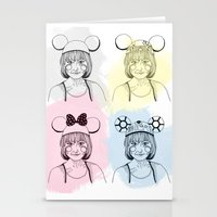 Mouse Ears Stationery Cards