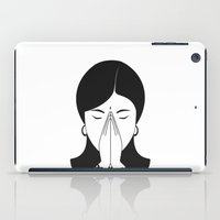 Modern woman iPad Case