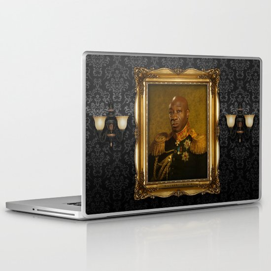 Michael Clarke Duncan - replaceface Laptop & iPad Skin