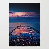 Ashbridges Bay Toronto C… Canvas Print