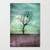 ATMOSPHERIC TREE I Canvas Print