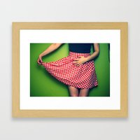 Pleased To Meet You~ Framed Art Print
