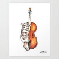 Live.  Art Print