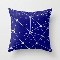 Constellations/Star Gazi… Throw Pillow