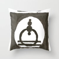 Parade Of The Planets Throw Pillow