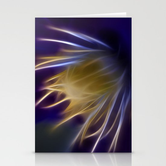 Clematis Stationery Card