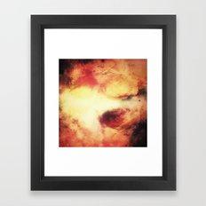 A Vibrant Journey Framed Art Print