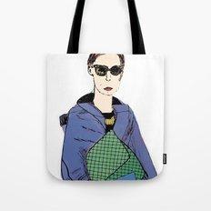 Bag Lady Blue Tote Bag