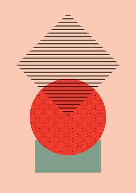 Cirkel is my friend V1 Art Print