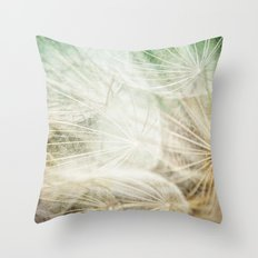 Clouds of Time Throw Pillow