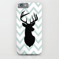 Chevron Deer Silhouette iPhone 6 Slim Case