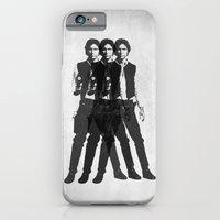 iPhone Cases featuring Triple Harrison  by Evan