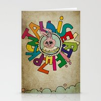 Bunny Obsession Again! Stationery Cards