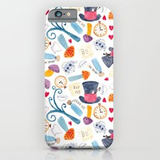 Alice in Wonderland - pattern Slim Case iPhone 6s