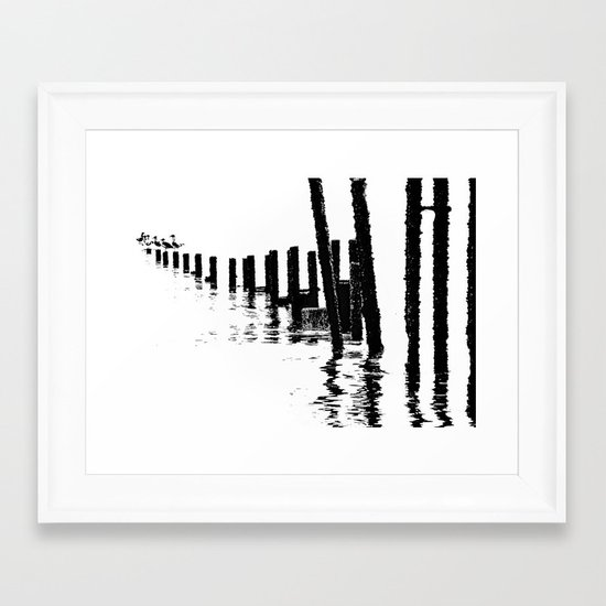MONO SEA Framed Art Print