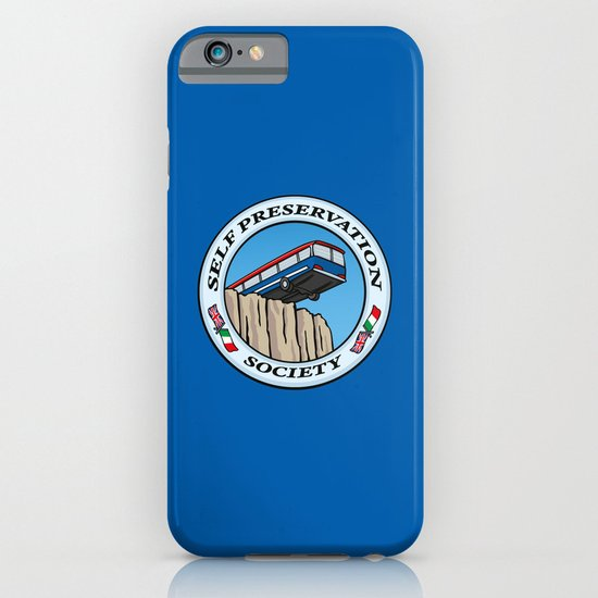 Self Preservation Society iPhone & iPod Case