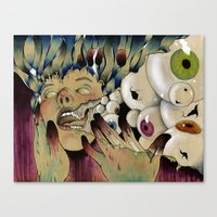 Dirty Fingers Canvas Print