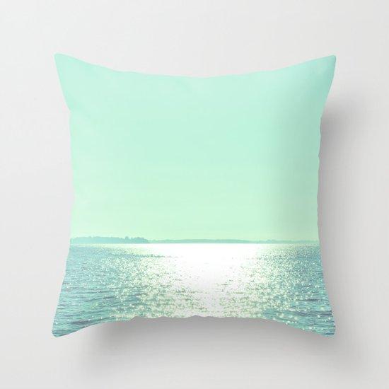 Summer Shine Throw Pillow