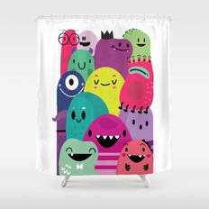 Pile of awesome Shower Curtain