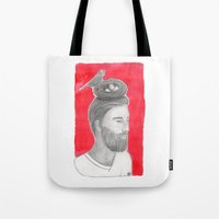 Nest-head Tote Bag