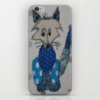 Mr Foxy iPhone & iPod Skin