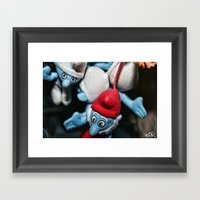 Smurfs Framed Art Print