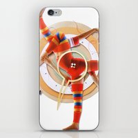Pivot | Collage iPhone & iPod Skin