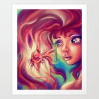 Magical Waters Art Print