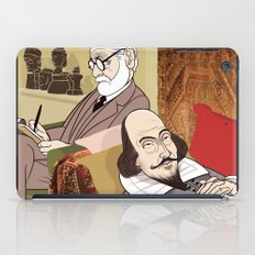 Freud analysing Shakespeare iPad Case