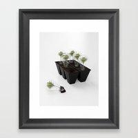 Eco Bulb 6 pack Framed Art Print
