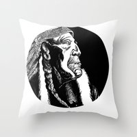 American Founder Throw Pillow