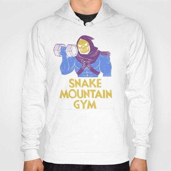 snake mountain gym Hoody