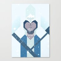 Connor / Assassins Creed Canvas Print