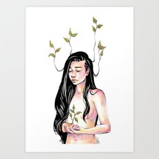 But That's How We Grow Art Print
