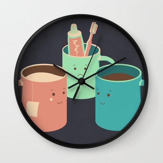 Mugs Wall Clock
