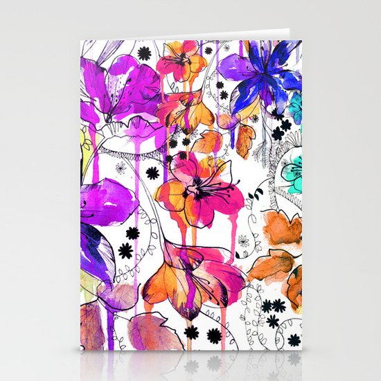 Lost in Botanica Stationery Card