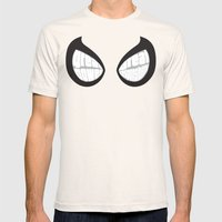 Spider-man Eyes Mens Fitted Tee Natural SMALL