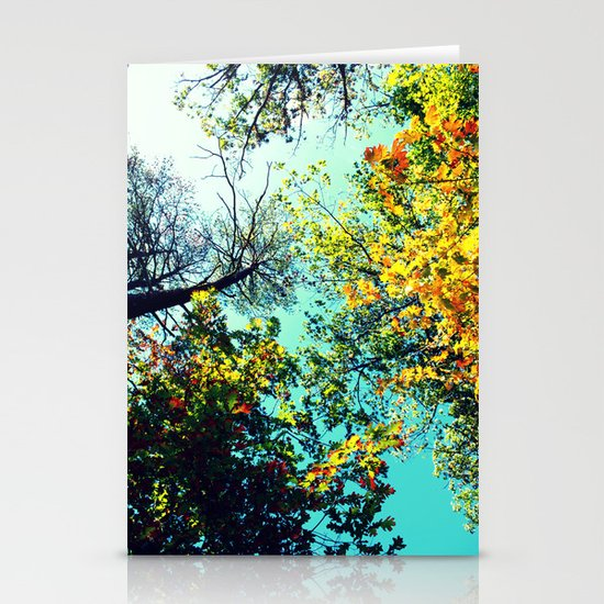 Looking Up Stationery Card