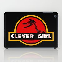 Clever Girl iPad Case