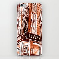 Lovers Diner iPhone & iPod Skin