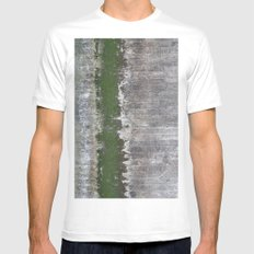 Clinging to Life SMALL Mens Fitted Tee White