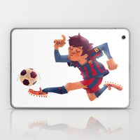 Lionel Messi, Barcelona Jersey Laptop & iPad Skin