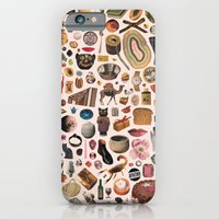 iPhone & iPod Case featuring TABLE OF CONTENTS II by Beth Hoeckel Collage & Design