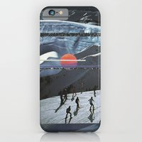 Night Skiing  iPhone 6 Slim Case