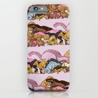 iPhone & iPod Case featuring Jurassic Sweet | Deluxe Edition by Alejo Malia