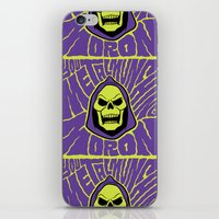 Metal Muncher iPhone & iPod Skin